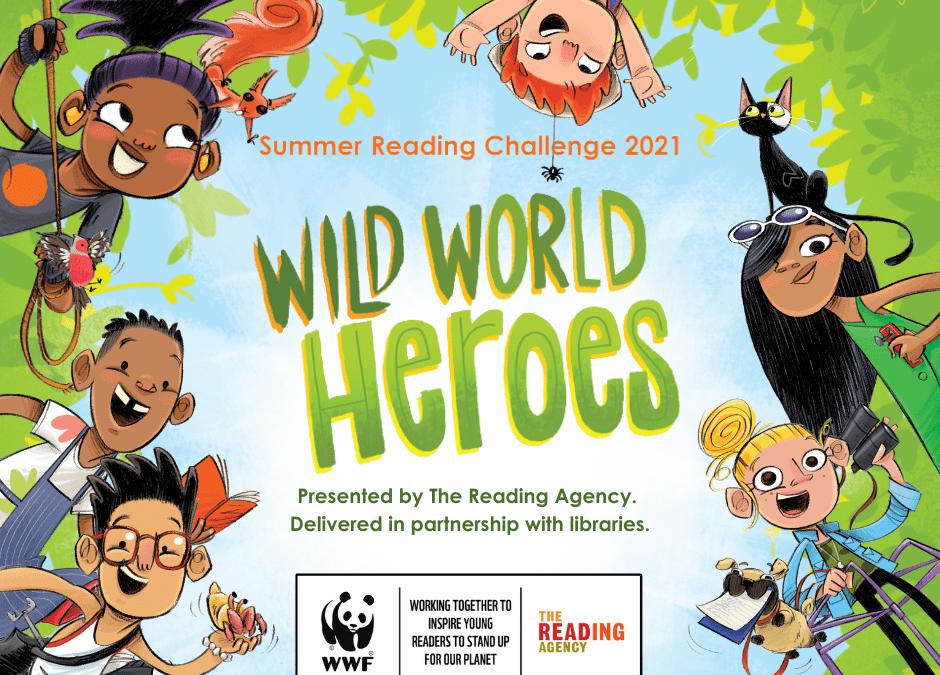 Wild World Heroes Summer Reading Challenge 2021